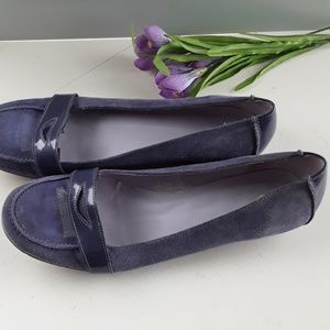GAP WOMEN SHOES UPPER LEATHER PURPLE SIZE 9